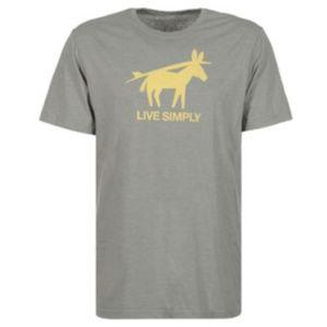Patagonia Donkey Gray Tshirt Size Medium